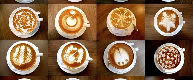 what is latte art