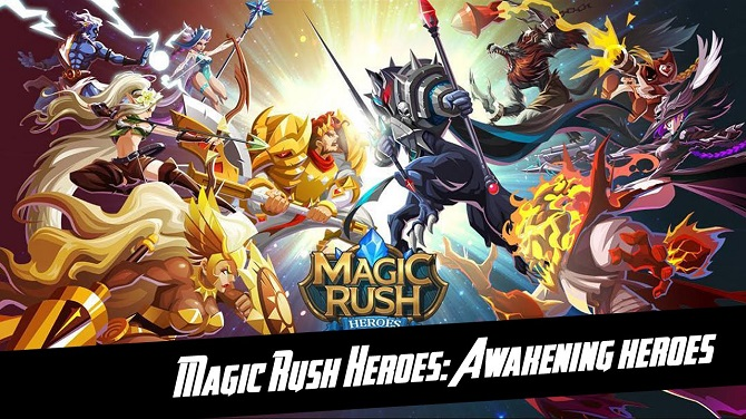 Magic rush game
