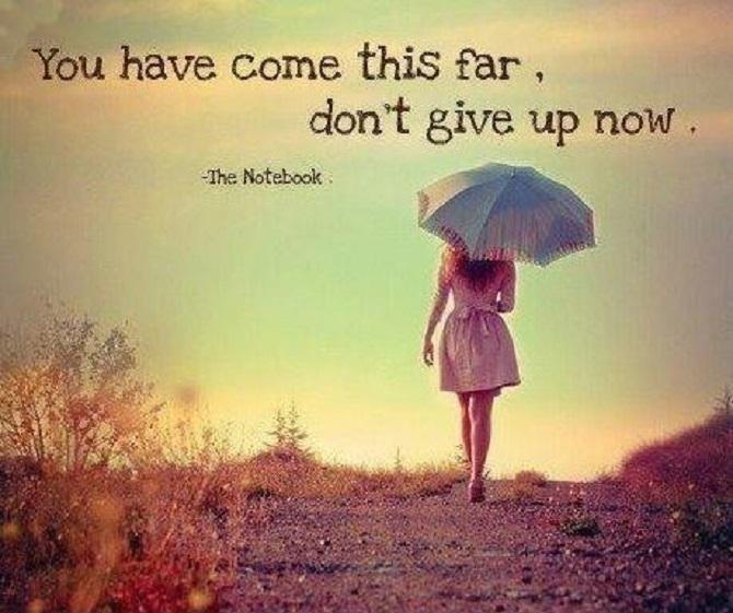 should i give up