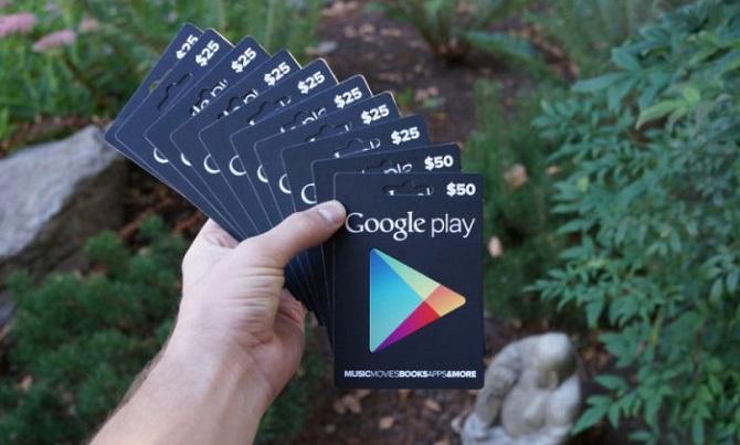 free google play code