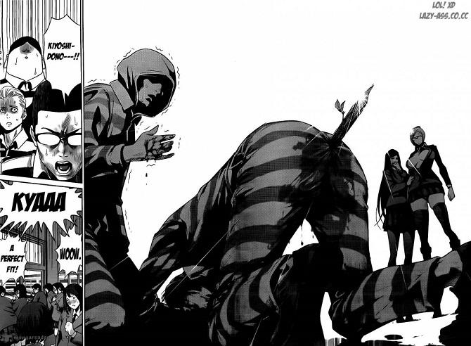 Anime prison school