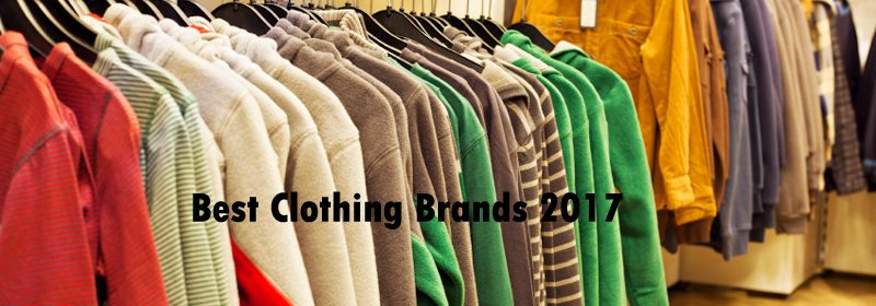 best clothing brands