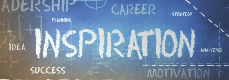how to be an inspiration
