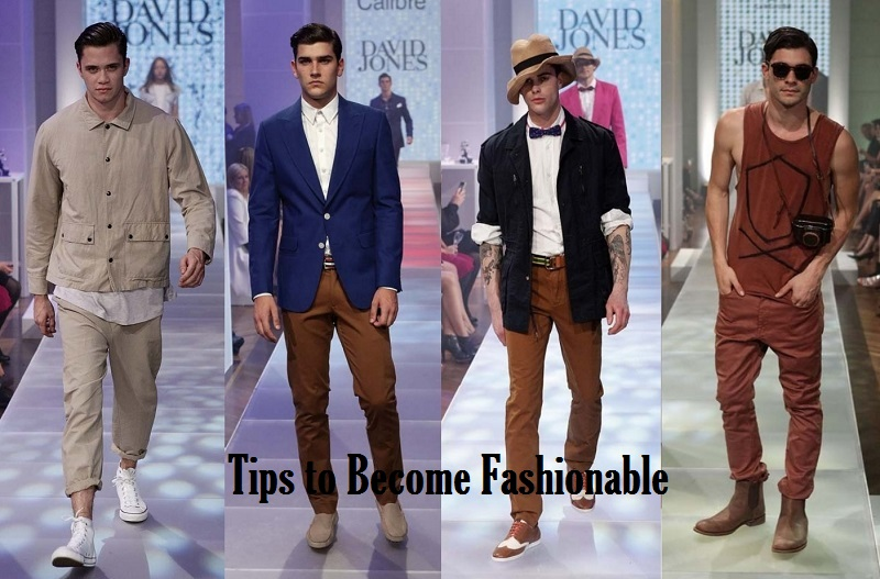 tips to become fashionable
