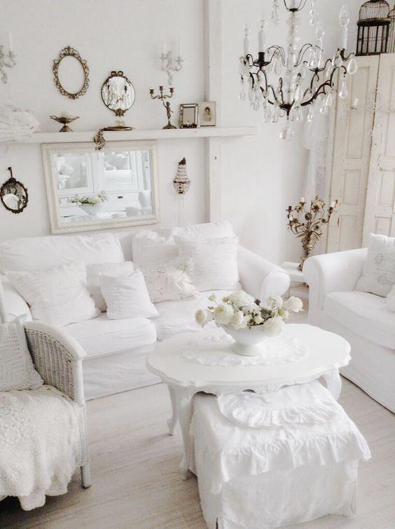 Shabby Chic Living Room Decoration