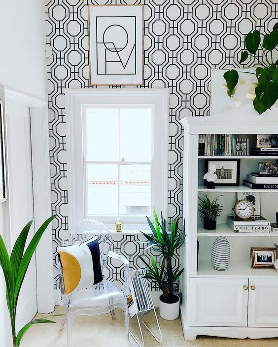 Monochrome Home Design Interiors